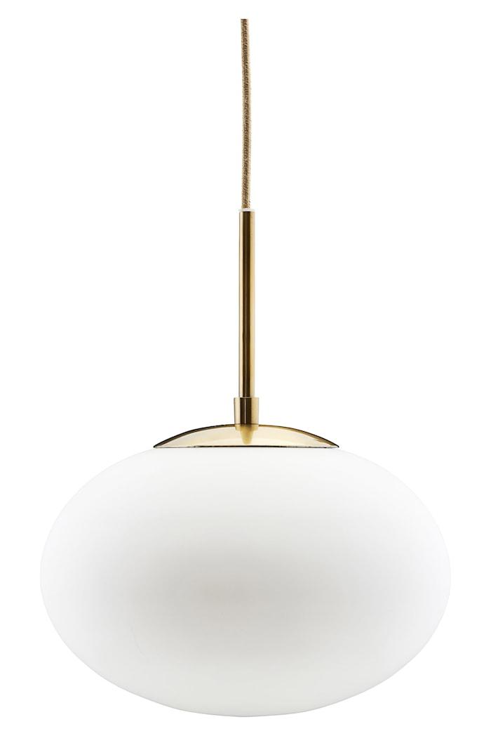 Taklampa Opal Vit Ø30x35cm