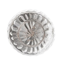 Nobilia Knopp Ø3.5 cm - Klar/silver