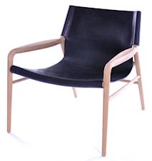 Rama chair lenestol - Såpebehandlet, svart