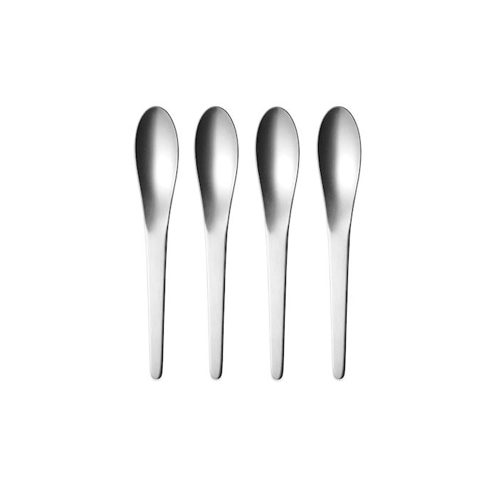 Arne Jacobsen Dessertskedarset  4st Rostfritt Stål