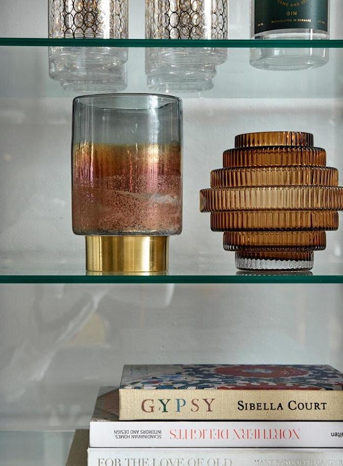 Vase Rill Amber Medium