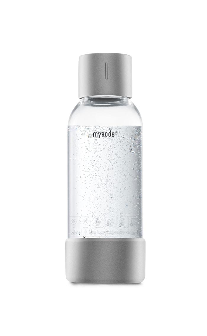 0,5 L Flaske 1-pakning Sølv