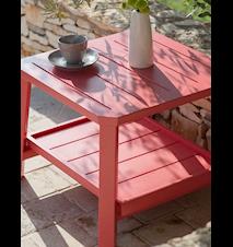 Petit club kvadrat bord - Röd