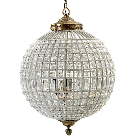 Crystal lamp taglampe - Large