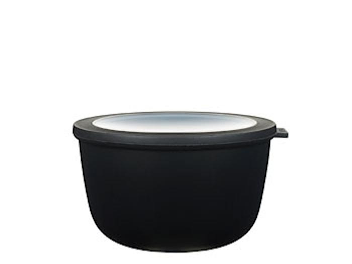 Skål m/låg Cirqula 2000 black