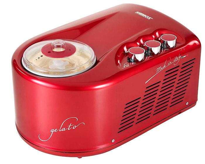 Gelato Pro 1700 Up glassmaskin röd 1,7L