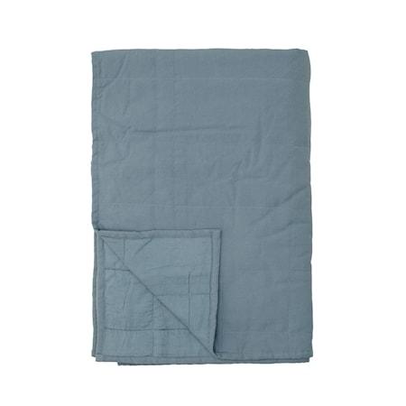 Honesty Sängöverkast Blå Bomull 220x150cm