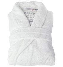 Morgonrock Royal Touch White XL