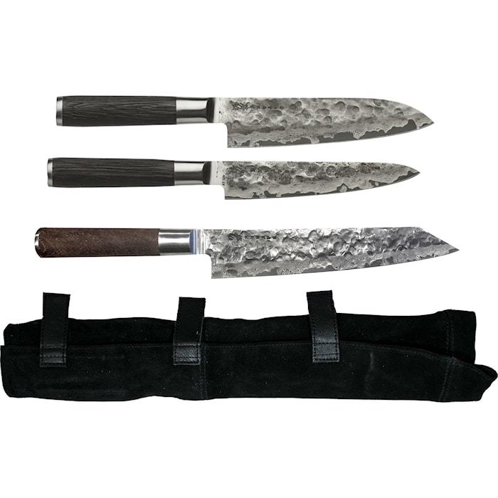 Kuro Knivset 3 delar