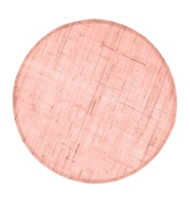 Mantel de Mesa Lino Rosa Salmón 38cm