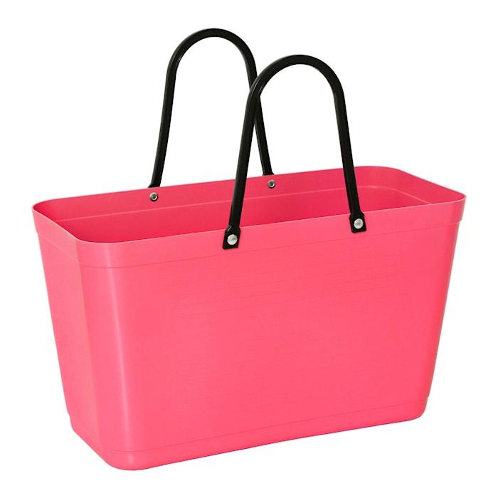Väska Stor Green Plastic Tropikrosa