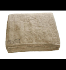 Lovely linen sengekappe – Natural beige, 290x290
