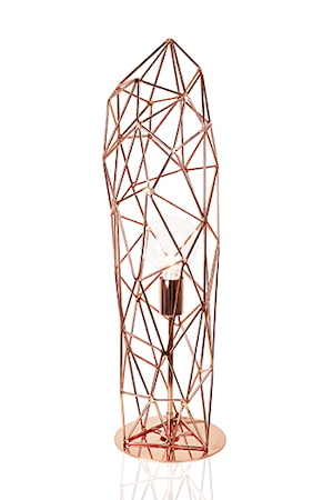 Bordslampa Diamond Statue Koppar