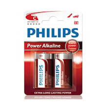 Fashion Power Alkaline C LR14 2-pack