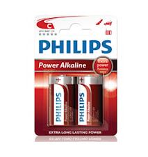 Fashion Power Alkaline C LR14 2-pak