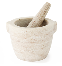 Mortel Vit Marmor 12x75 cm