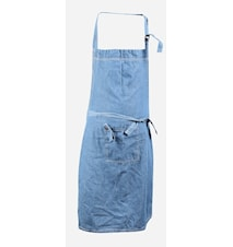 Krögarförkläde Denim 65x100 cm