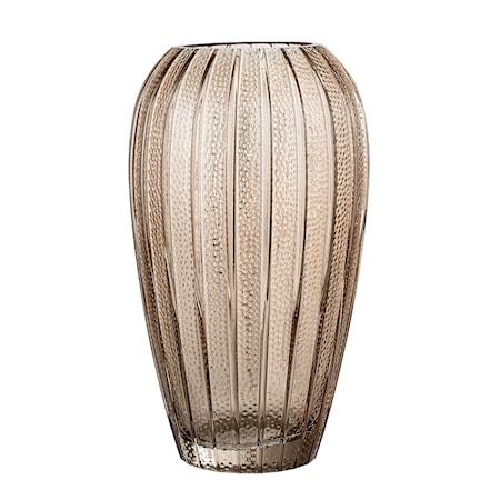 Vas Glas Brun Ø15x25cm