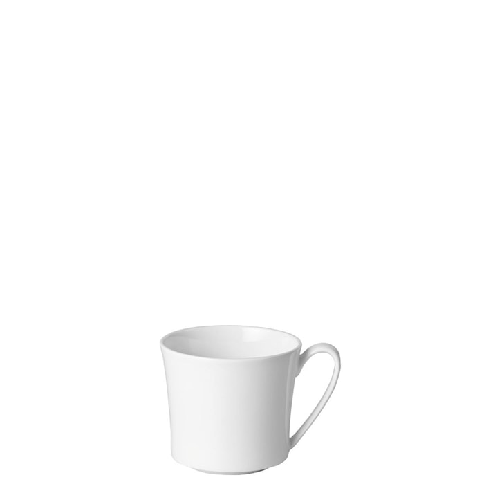 Jade Valkoinen Cafe au Lait Kuppi