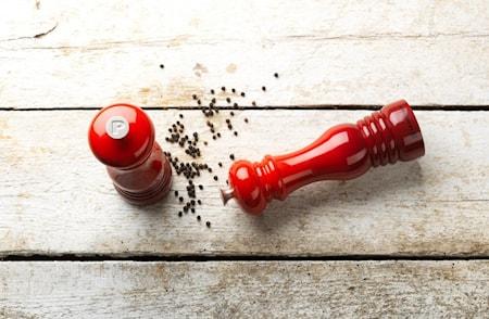 Salt- och pepperkvernsett 21 cm Cerise