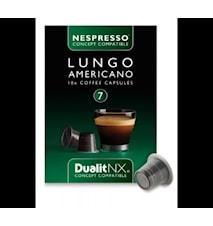 Kahvikapseli Lungo America N/X 10-pack - Dualit