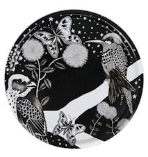 Vassoio Nadja Wedin Design 38 cm colibrì