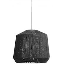 Lampskärm Jute Svart Ø55cm