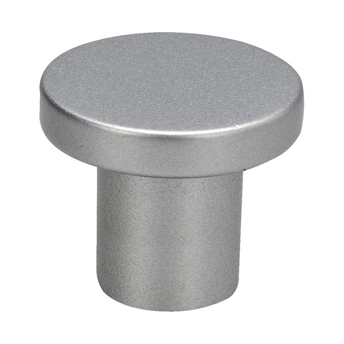 Knopp 2078 alu-look - 3,3 cm