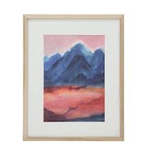 Sunset Tiny Art + Ramme L