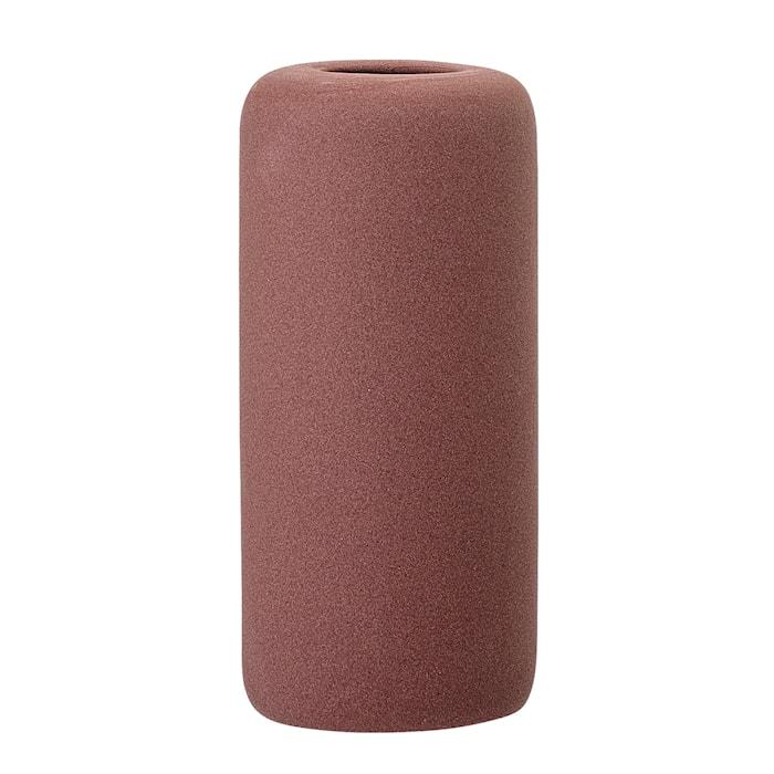 Vase Stone Red Ø6x13 cm
