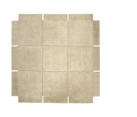 Basket Matta Beige 180x180 cm