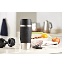 TRAVEL MUG 0.36L black sleeve
