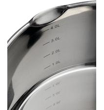 Supreme Steel Gryta 24 cm / 5 L