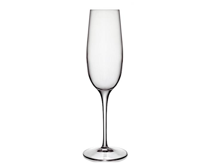 Flûte à Champagne Palace transparente 23,5 cl lot de six