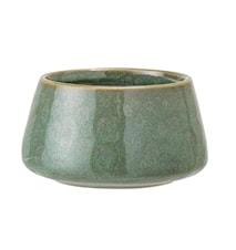 Lysholder Stone Green Ø8xH4,5 cm
