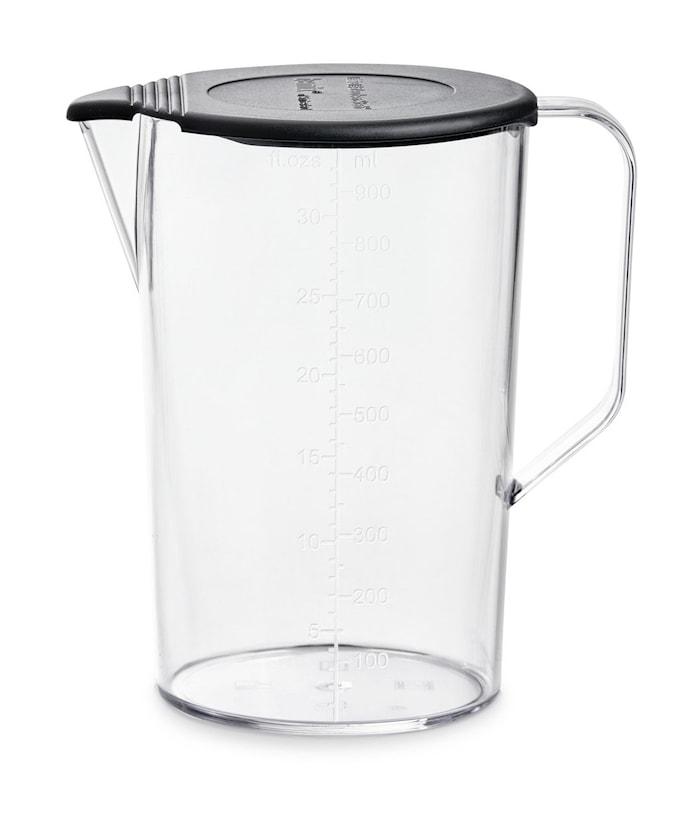 Beholder med lokk 1000 ml