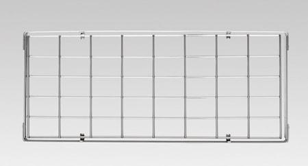 Hahn Premium seinähylly 60 x 28 x 4 cm kromi