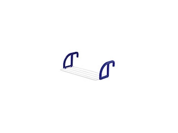 Classic 25 Torkställning 2,5 m vit/blå