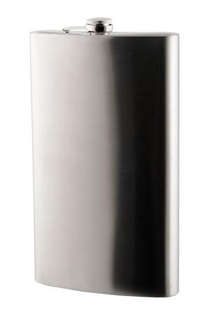 Fickplunta mattpolerad rostfritt stål 19l