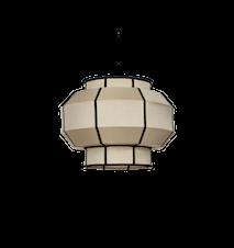 Indochina Colonial Lampeskjerm