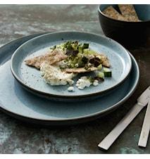Gastro lautanen Ø 27 cm harmaa/vaaleansininen