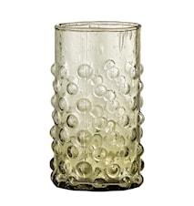 Freja Vattenglas Grön Återvunnet Glas