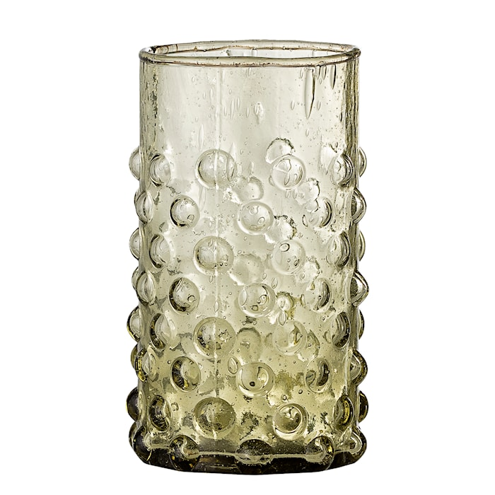 Freja Vandglas Grøn Genbrugsglas