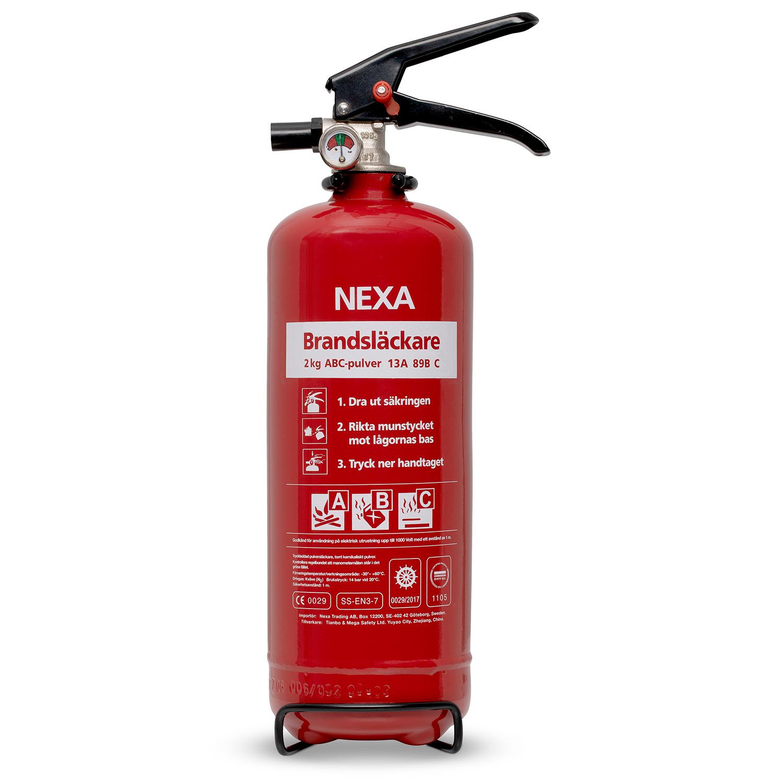 Brandsläckare Röd 2kg 13A