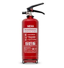 Brannslukker Rød 2kg 13A