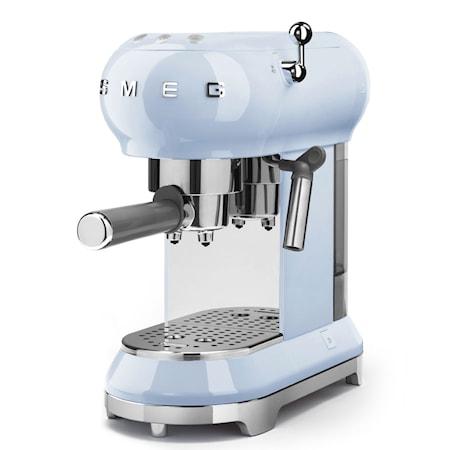 Espressomaskin Blå