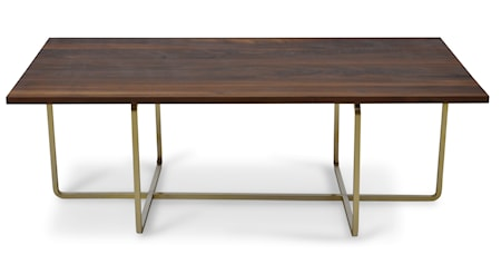 Ninety Table XL wood sofabord - (H) 40, walnut