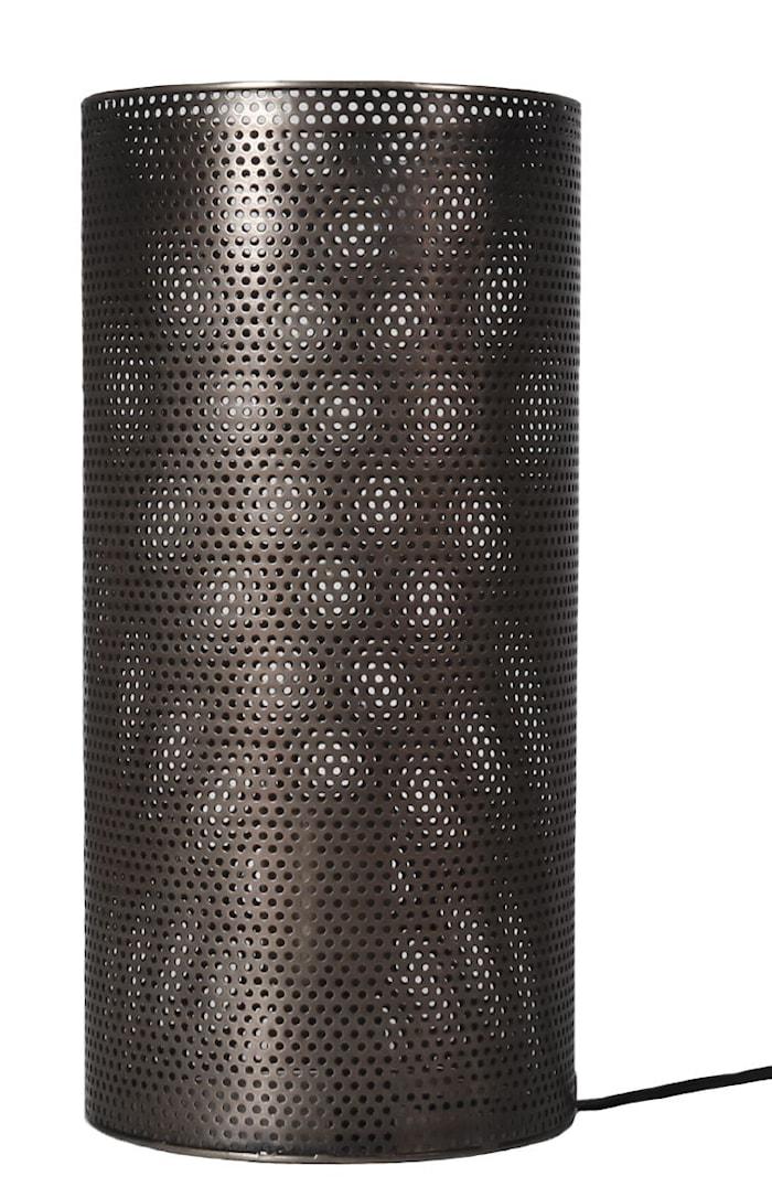 Lampe Hollow 32cm - Antikksølv