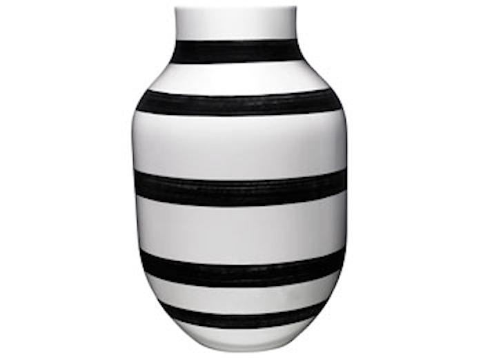 Omaggio Maljakko Musta H 30,5 cm