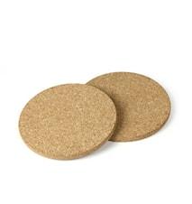 Dessous de plat rond liège 17 cm 2 pièces
